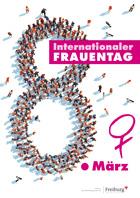 """Flyer zum Freiburger Aktionsprogramm """"Internationaler Frauentag"""""""
