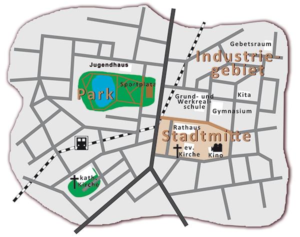 Stadtplan Stuttingen