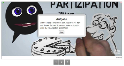 LearningApps: Videoeinblendung
