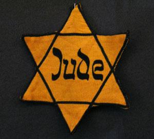 Judenstern. Foto: Daniel Ullrich, Threedots. Lizenz: CC BY-SA 3.0, Wikimedia Commons