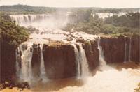 Iguaçu-Wasserfälle. Foto: Bernhard Hausenblas.