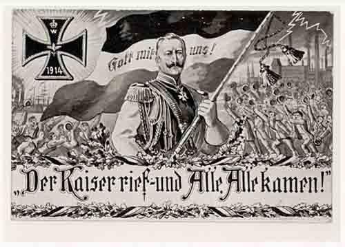 Kriegsausbruch 1914