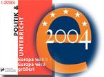 Zeitschrift Politik und Unterricht 1-2/2004