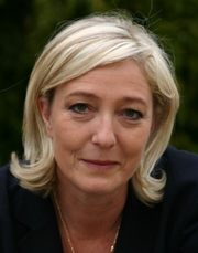 Marine Le Pen. Foto: Off2riorob. Front National. Lizenz: CC BY-SA 3.0