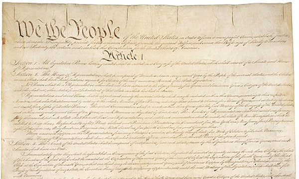Constitution of the United States. Foto: Pixabay. Gemeinfrei.