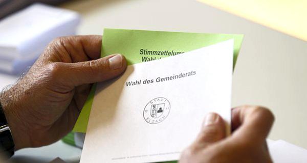 Wahl des Gemeinderates. Foto: picture alliance / Eibner-Pressefoto.