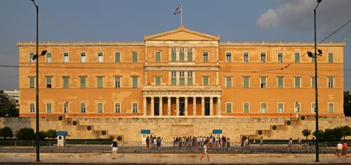 Parlament Athen, Foto: A.Savin, CC BY-SA 3.0, Wikimedia Commons