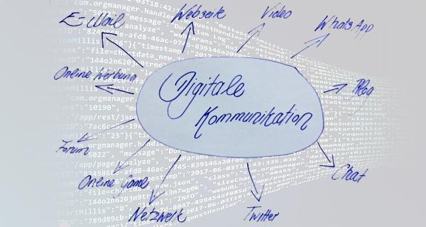 Digitale Kommunikation. Bild: Bianca Braun. LpB.