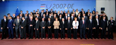 EU-Gipfel, © Council of the EU | Brussels - Council/Justus Lipsius | p-013022-00-15 | 21/06/2007