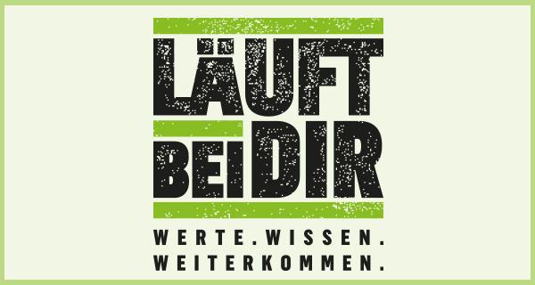 """Logo des Projekts """"Läuft bei Dir!"""""""