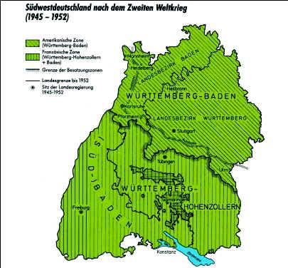 Schwaben Karte Deutschland.Kleine Politische Landeskunde Baden Württemberg